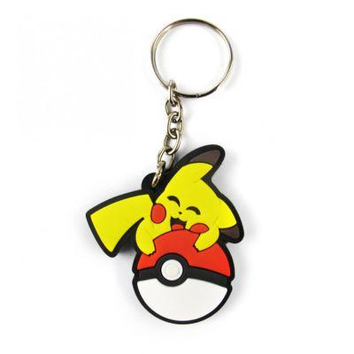 chaveiro-emborrachado-pikachu