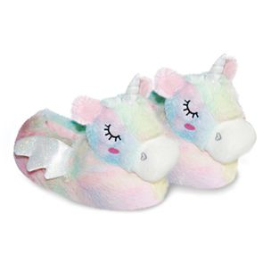 pantufa-infantil-unicornio-rainbow-lateral