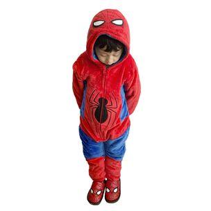 kigurumi-infantil-homem-aranha-frente