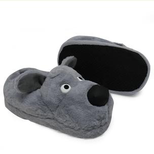 pantufa-3d-cachorro-cinza-lado-solado