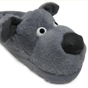 pantufa-3d-cachorro-cinza-lado