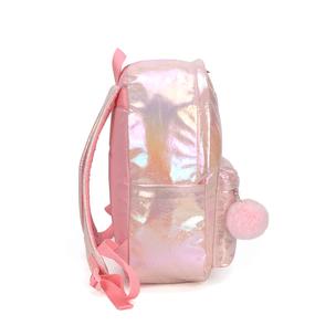 mochila-holografica-rosa-barbie-lateral